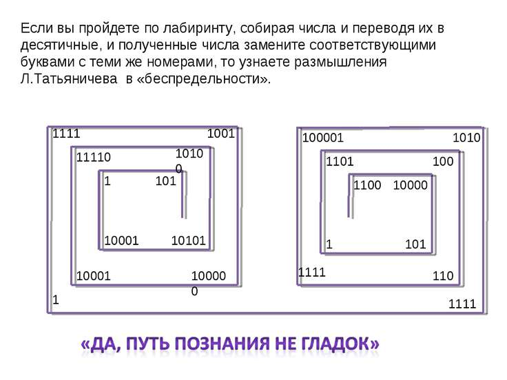 10101 101 1 10001 10100 11110 10001 100000 1001 1111 1 1111 1010 100001 1111 ...