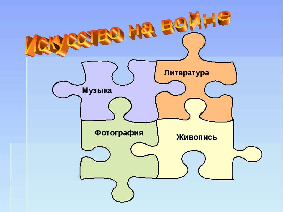 Живопись Музыка Литература Фотография
