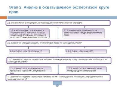Этап 2. Анализ в охватываемом экспертизой круге прав 2.1. Ознакомление с конц...