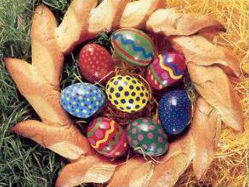Выводы Существуют народные игры и забавы с пасхальным яйцом.