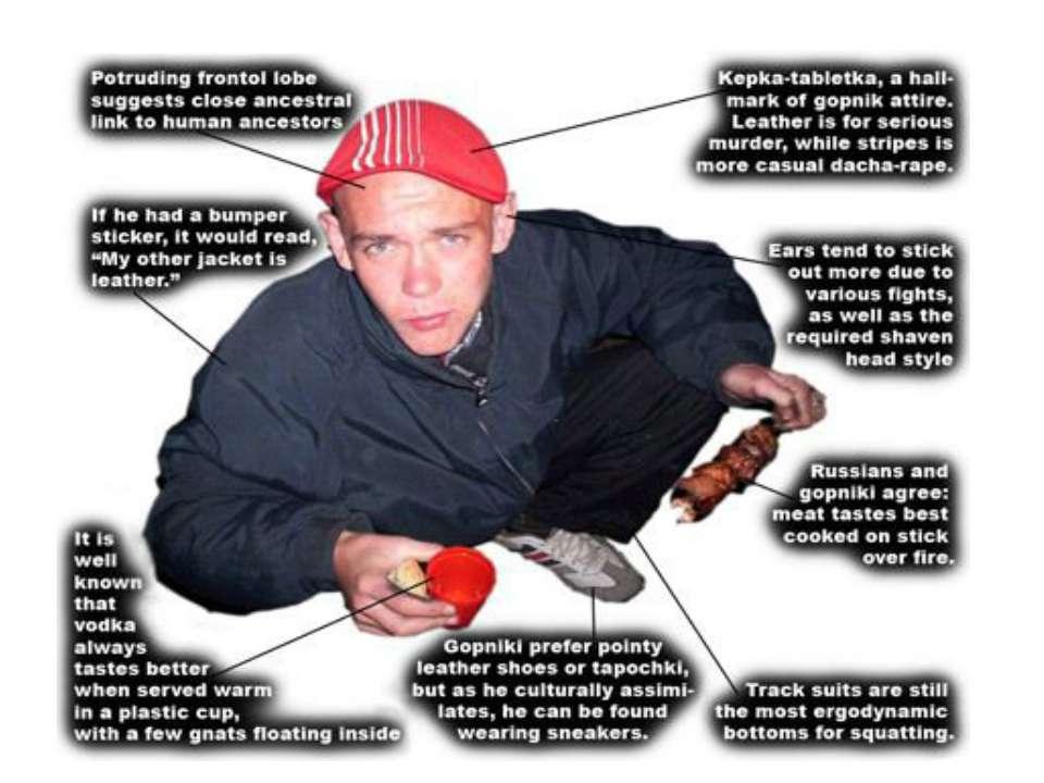 Slavic men characteristics