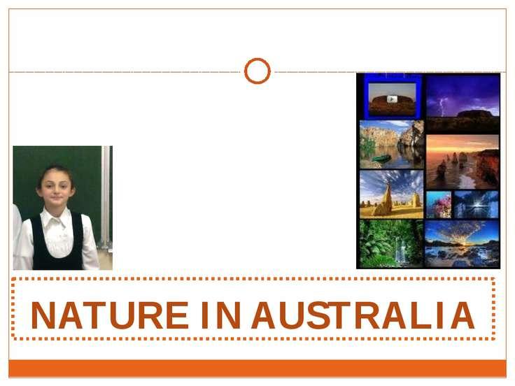 NATURE IN AUSTRALIA