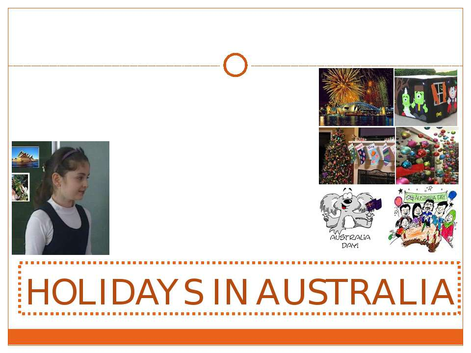 HOLIDAYS IN AUSTRALIA