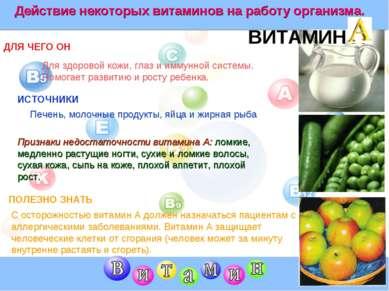 ВИТАМИН A ДЛЯ ЧЕГО ОН ИСТОЧНИКИ ПОЛЕЗНО ЗНАТЬ Для здоровой кожи, глаз и иммун...