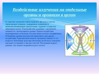 В структуре организма можно выделить два класса систем: управляющую (нервная,...