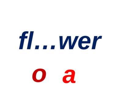 fl…wer o a