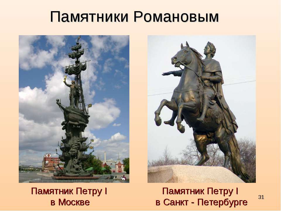 * ПамятникПетруI в Москве Памятники Романовым ПамятникПетруI в Санкт - ...