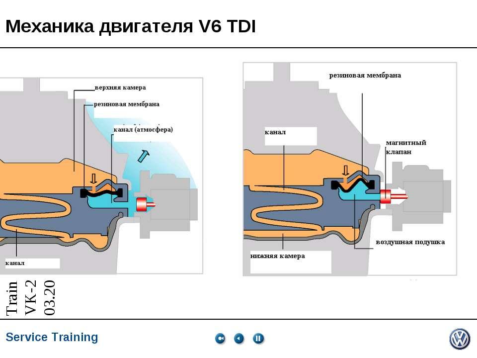 Механика двигателя V6 TDI Service Training *