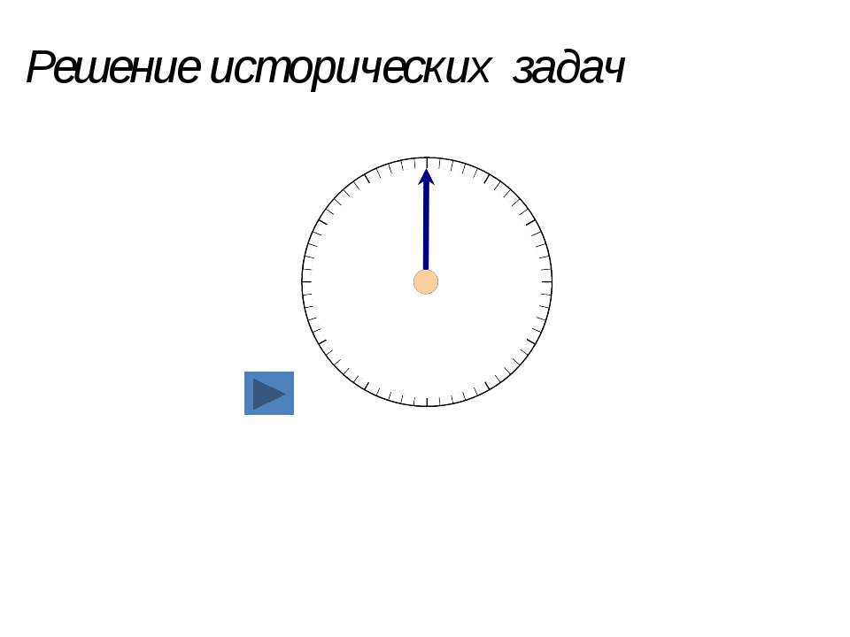 Решение исторических задач 17.02.2014