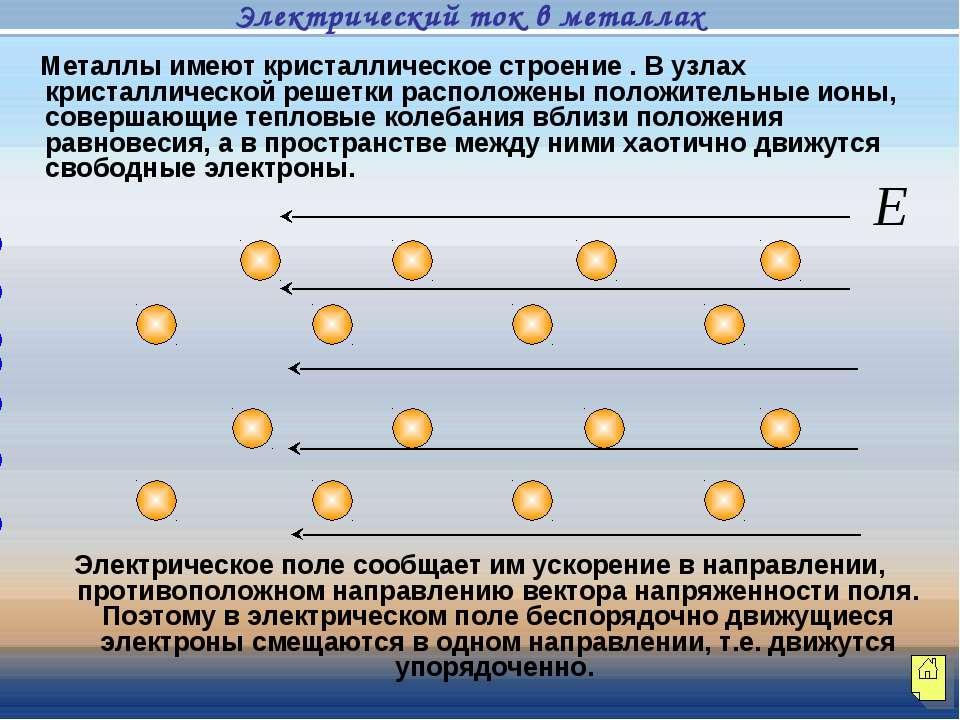 Металлы имеют кристаллическое строение . В узлах кристаллической решетки расп...