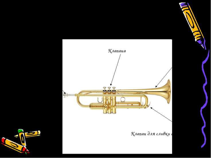 Строение трубы. Мундштук Корпус Клапана Клапан для сливки слюней