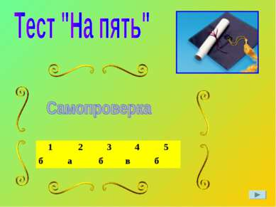 1 2 3 4 5 б а б в б