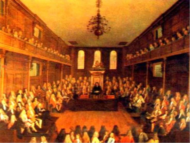 Игра «Заседание парламента» «Нужна ли была Англии революция и была ли возможн...
