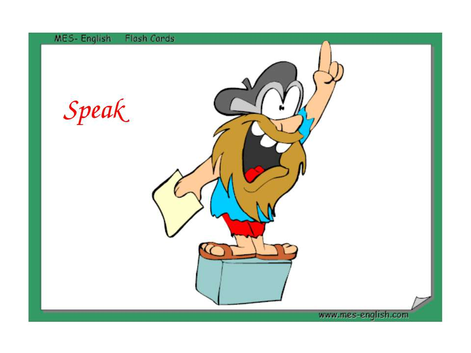 Speak