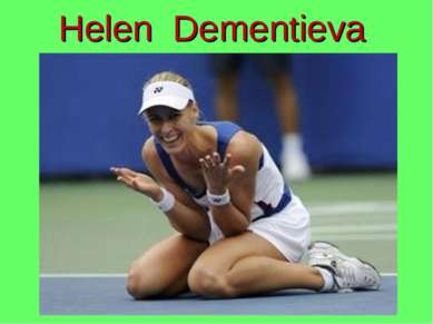 Helen Dementieva