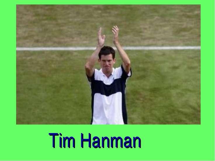 Tim Hanman