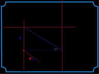 Даны прямоугольник АВСО, диагональ которого 12 см и угол между диагональю и с...