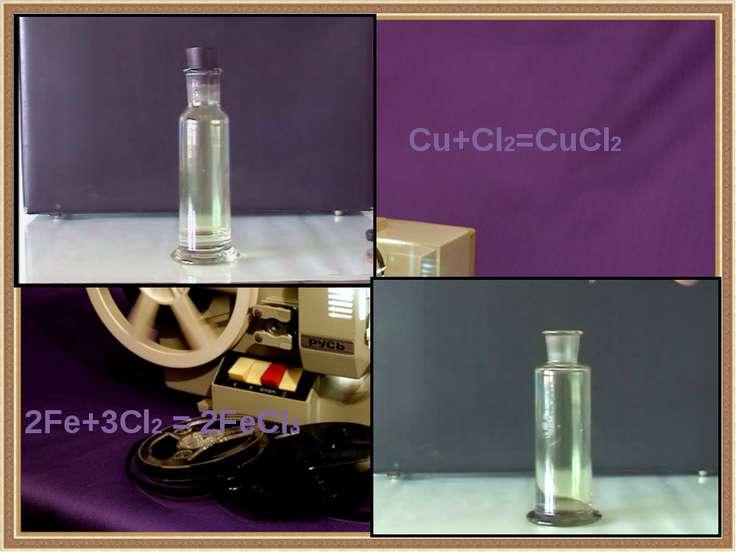 Хлор в органике Хлор является активным реагентом в органическом синтезе. Его ...