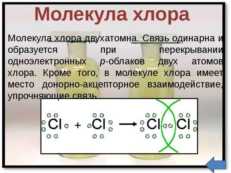Применение хлора Хлор применяют во многих отраслях промышленности, науки и бы...