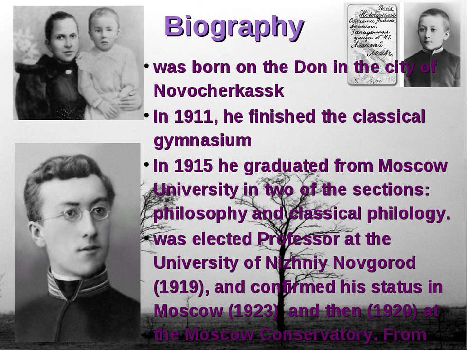 Biography was born on the Don in the city of Novocherkassk In 1911, he finish...