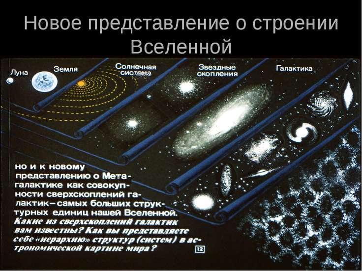 Новое представление о строении Вселенной