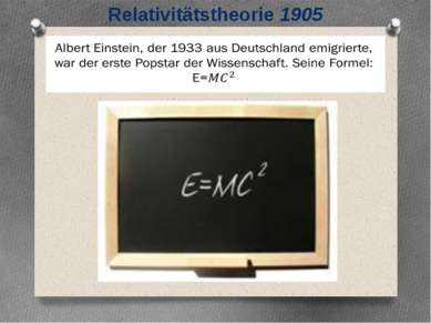Relativitätstheorie 1905