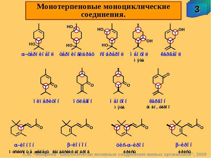 """А.М. Чибиряев """"Биологически активные соединения живых организмов"""", 2009 3 Мон..."""