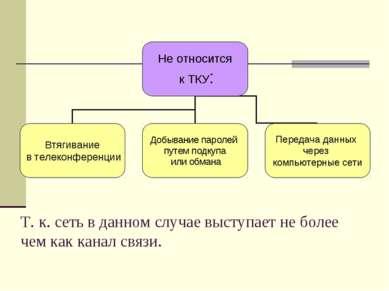 Т. к. сеть в данном случае выступает не более чем как канал связи.