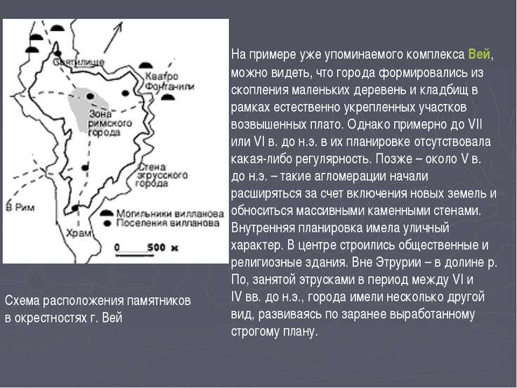 На примере уже упоминаемого комплекса Вей, можно видеть, что города формирова...