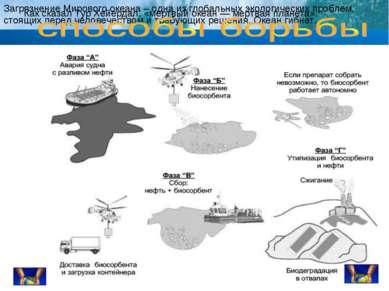 Загрязнение Мирового океана – одна из глобальных экологических проблем, стоящ...