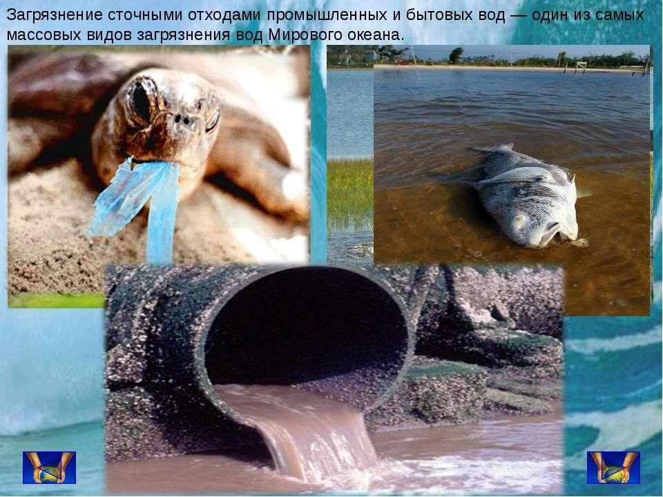 Загрязнение сточными отходами промышленных и бытовых вод — один из самых масс...