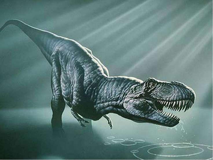 Кархародонтозавр Кархародонтозавры жили около 110 млн. лет назад в Северной А...