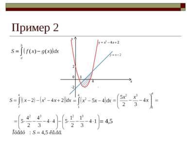 Пример 2 2 0 -2 1 4