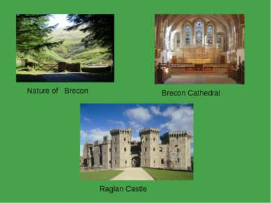 Nature of Brecon Brecon Cathedral Raglan Castle