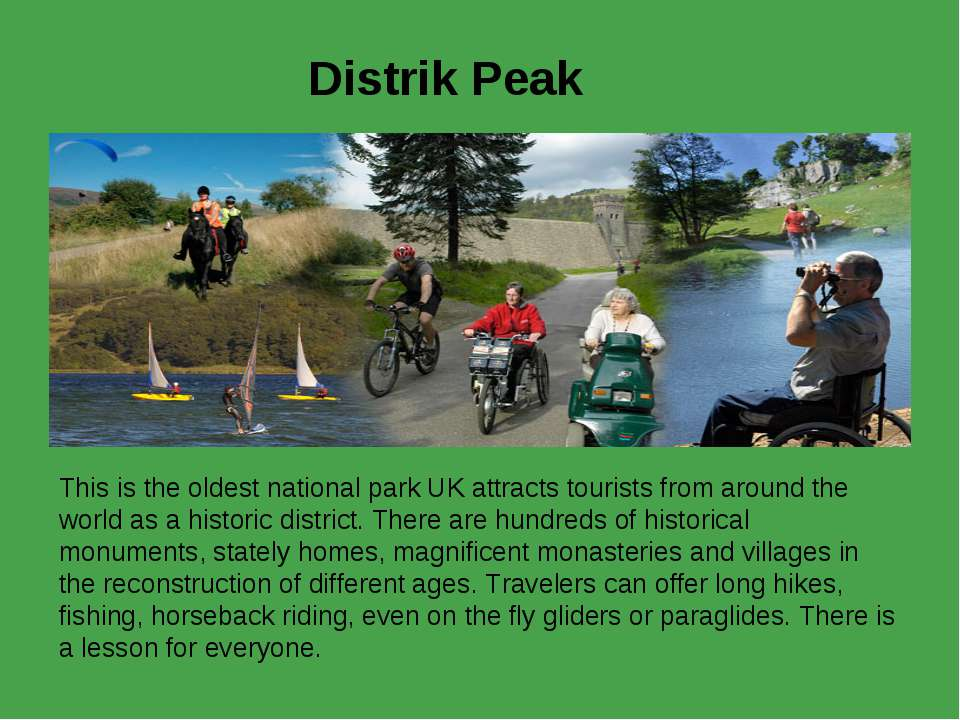 Distrik Peak This is the oldest national park UK attracts tourists from aroun...