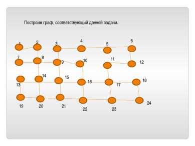 Построим граф, соответствующий данной задачи. 1 2 3 4 5 6 7 8 9 10 11 12 18 2...
