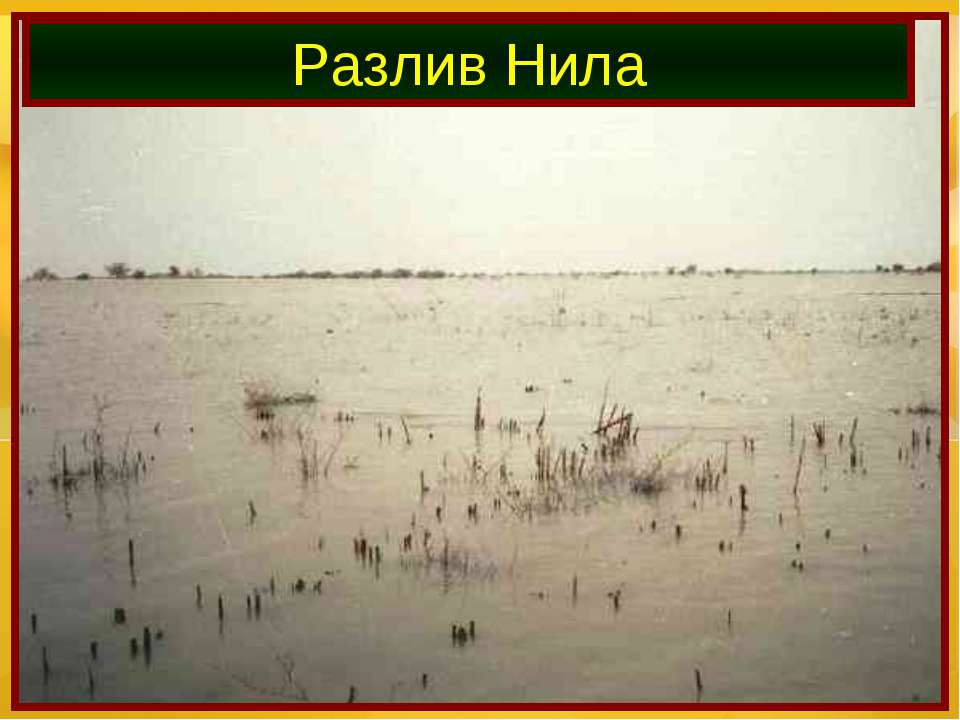 Разлив Нила
