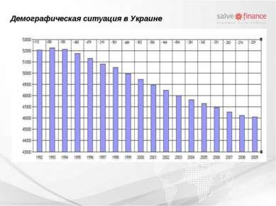 Демографическая ситуация в Украине