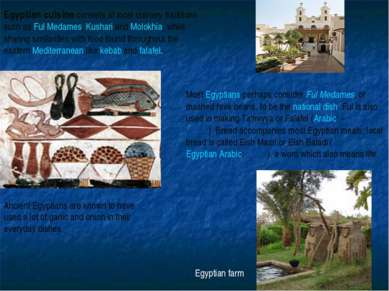 Egyptian cuisine consists of local culinary traditions such as Ful Medames, K...