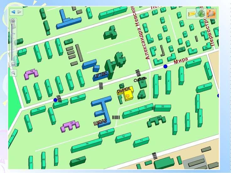 План города Дубль Гис