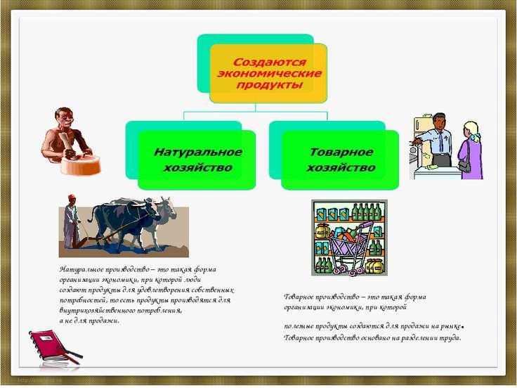 Натуральное производство – это такая форма организации экономики, при которой...