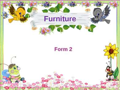 Furniture Form 2
