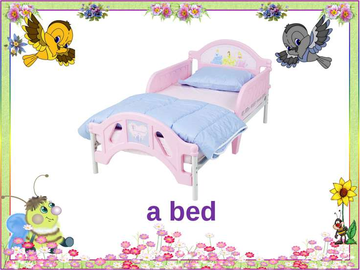 a bed