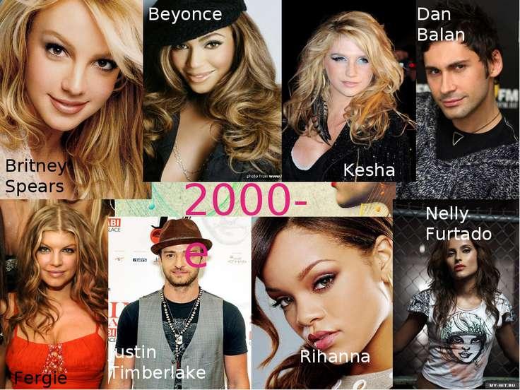 2000-е Britney Spears Beyoncе Kesha Dan Bаlan Fergie  Justin Timberlake Rih...