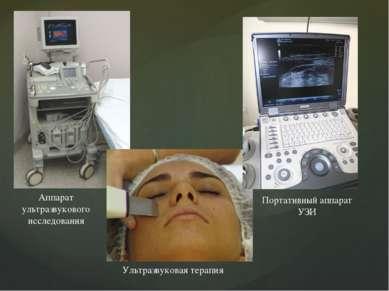 Аппарат ультразвукового исследования Ультразвуковая терапия Портативный аппар...