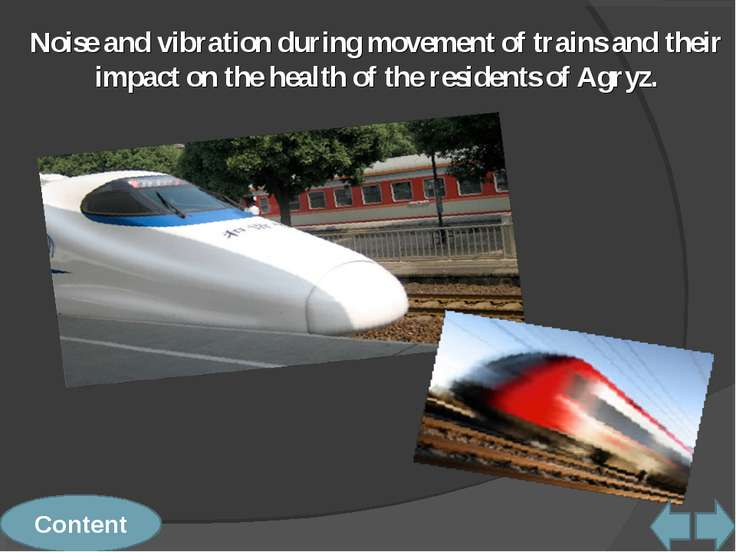 Noise and vibration during movement of trains and their impact on the health ...