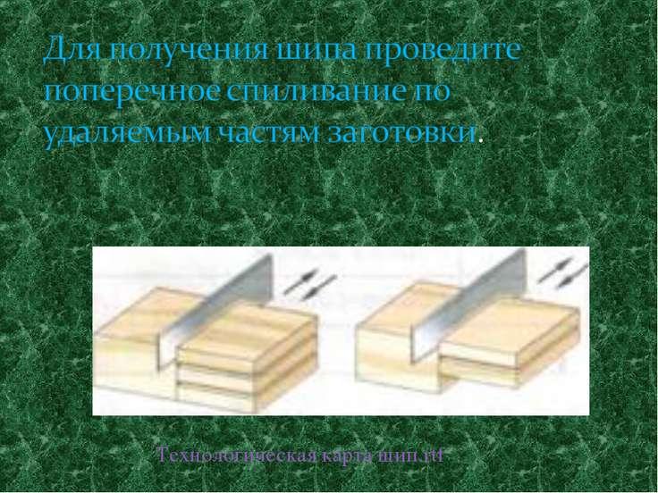 Технологическая карта шип.rtf