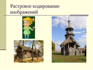 Растровое кодирование изображений