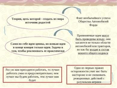 Теория, цель которой - создать из мира источник радостей Факт необычайного ус...
