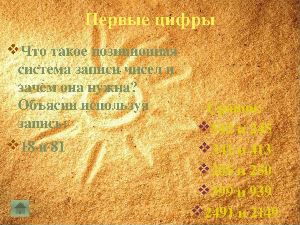 Первые цифры Что использовали жители Древнего Рима для записи чисел? Как обоз...